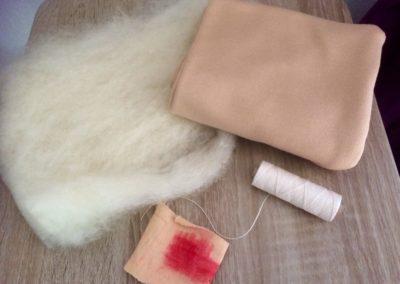 Material Paket Schmusepuppe