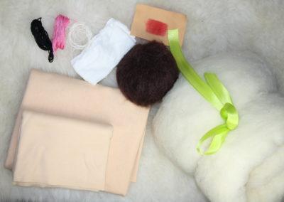 Materialpaket Puppe