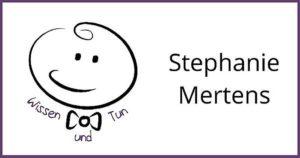 Wissen und Tun - Logo Stephanie Mertens