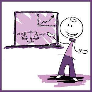 Unternehmen und Leben in Balance