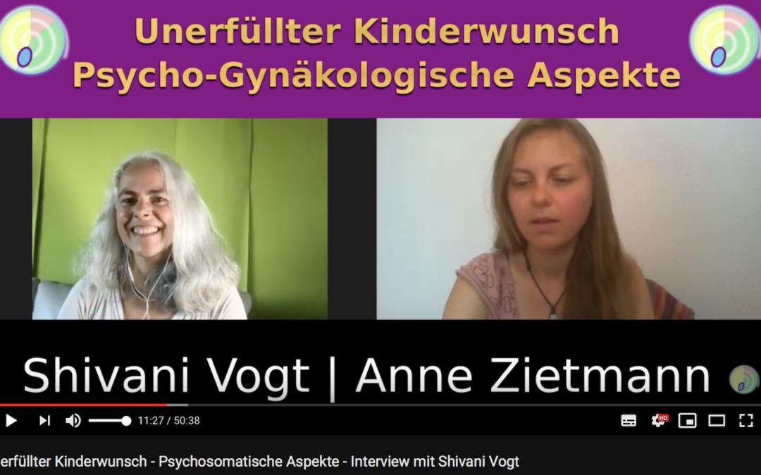 Schwanger werden trotz Streß – Interview mit Anne