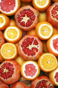 Schwangerschaftsübelkeit Orangen