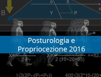 Corso Formazione Posturologia - Stabilometria e Propriocezione 2016