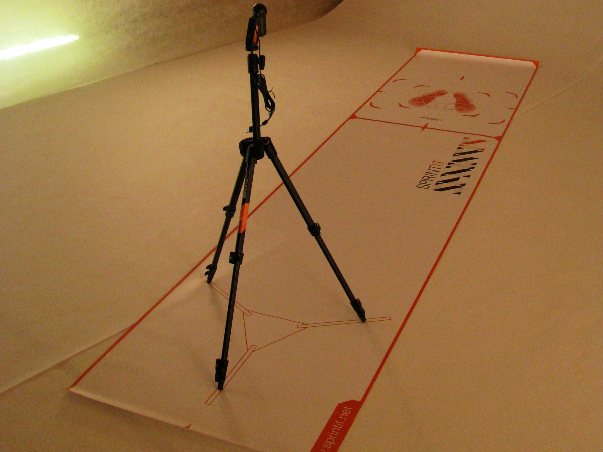 Kit Trasportabile Postural Experience (Tappeto + Cavalletto + Webcam)
