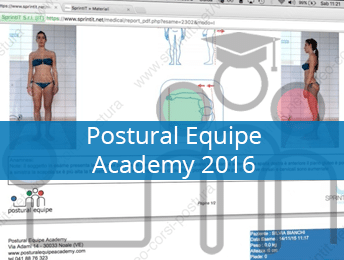 Corso Formazione Posturologia - Porstural Equipe Academy 2016