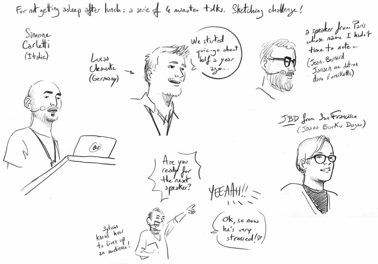 Lightning Talks sketch