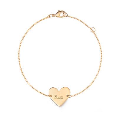 Heart Chain Armband