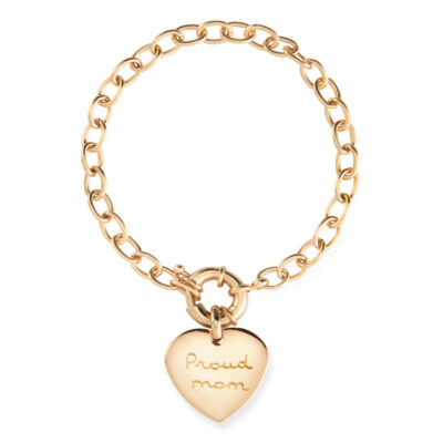 Bold Heart Bracelet