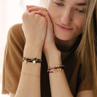 Mini Charm Wrap Bracelet