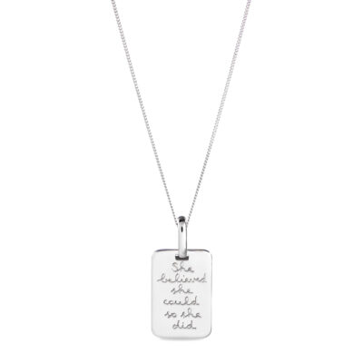 Quote Necklace