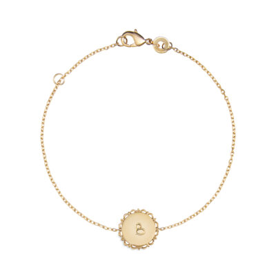 Bracelet Rond Vintage Sur Chaîne