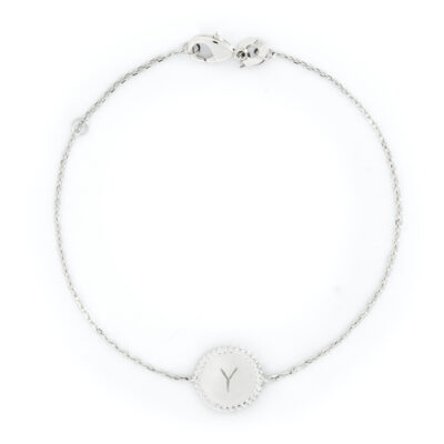 Beaded Coin Chain Bracelet