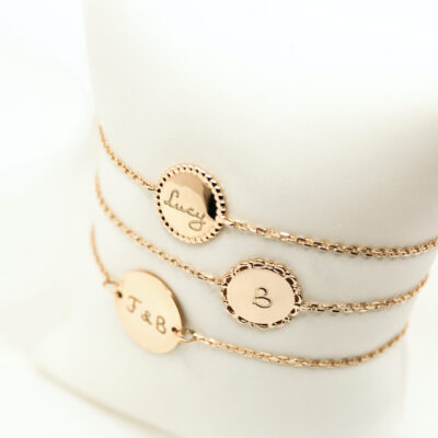 Beaded Coin Chain Armband