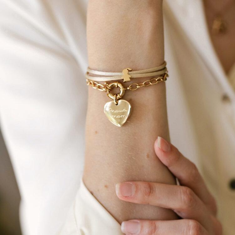 Bold Herz Armband