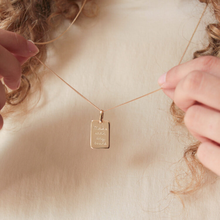 Collier de Citation