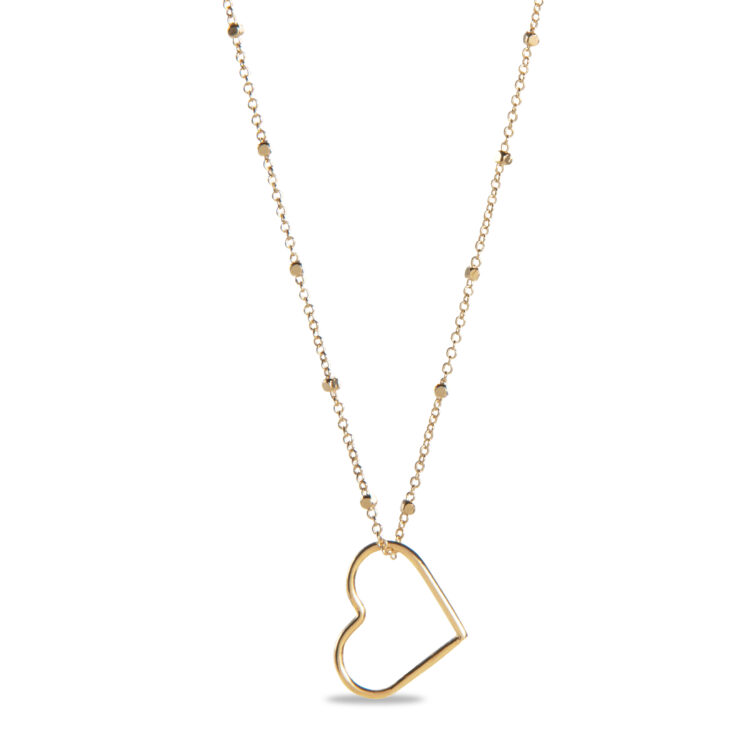 Offenem Herzen Halskette