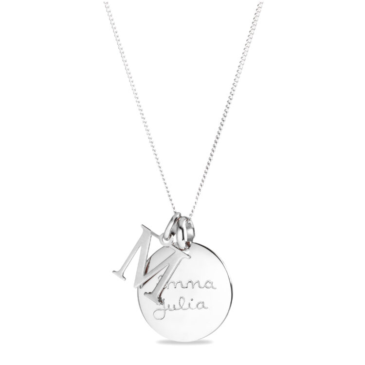 Initial Coin Ketting