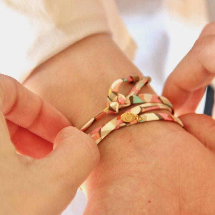 Clover Wrap Bracelet