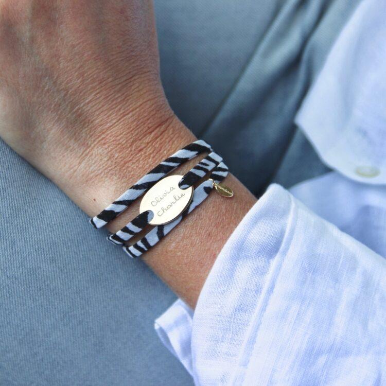 Mini Charm Wrap Armband