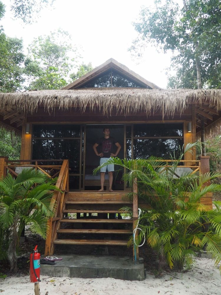 The One Resort hut