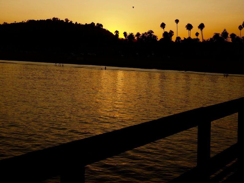 Santa Barbara amazing sunset