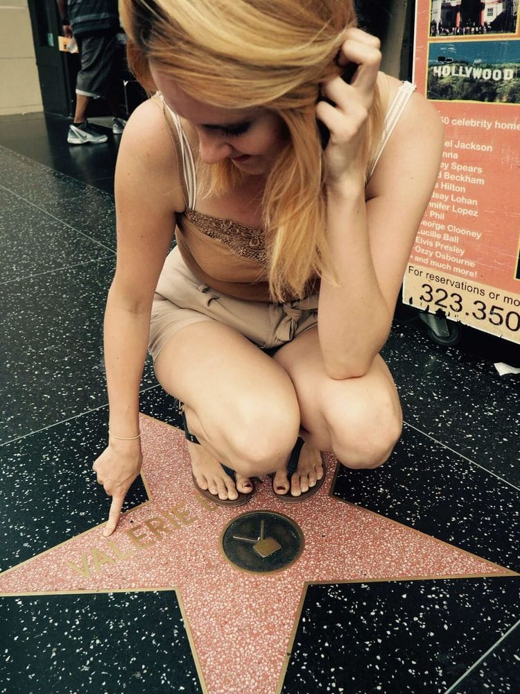 Me and my walk of fame star