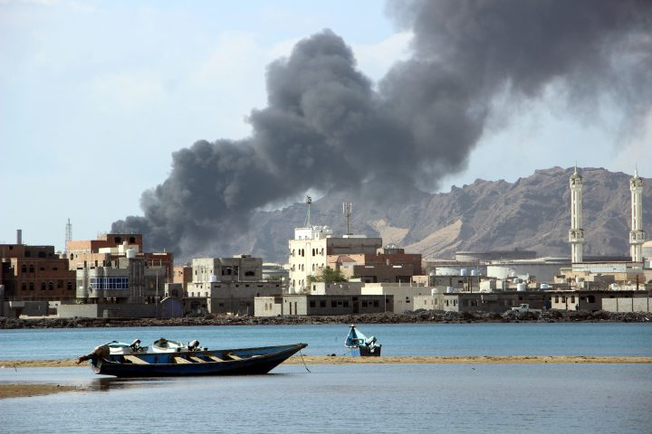 Arab Reform Initiative - The View from Aden: A Shadow State between the Coalition and Civil War