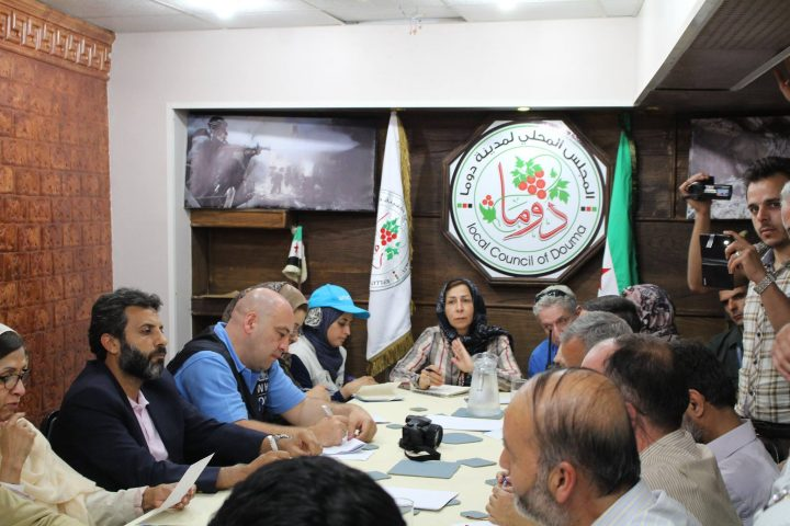 Arab Reform Initiative - Syrians Under Siege: The Role of Local Councils