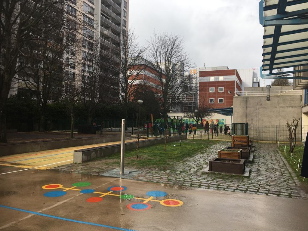 Botu Parijs 2020 8 schoolyard