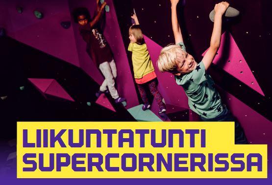 Liikuntatunti-SuperCornerissa