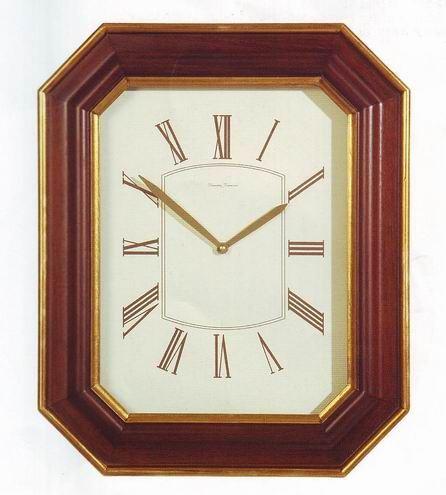 Orologio legno ottagonale 51x42 355 diamantini domeniconi for Orologio legno amazon