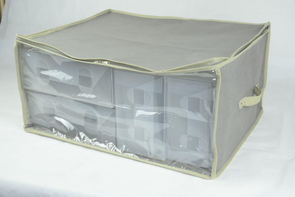 Custodia piumoni 60x50x30cm t tortora paoletti for Amazon piumoni