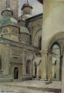 Часовня трех святителей во Львове 1934 г.