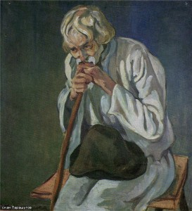 Дедушка (На закате жизни) 1913 г