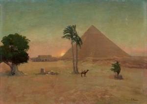 Египетский пейзаж