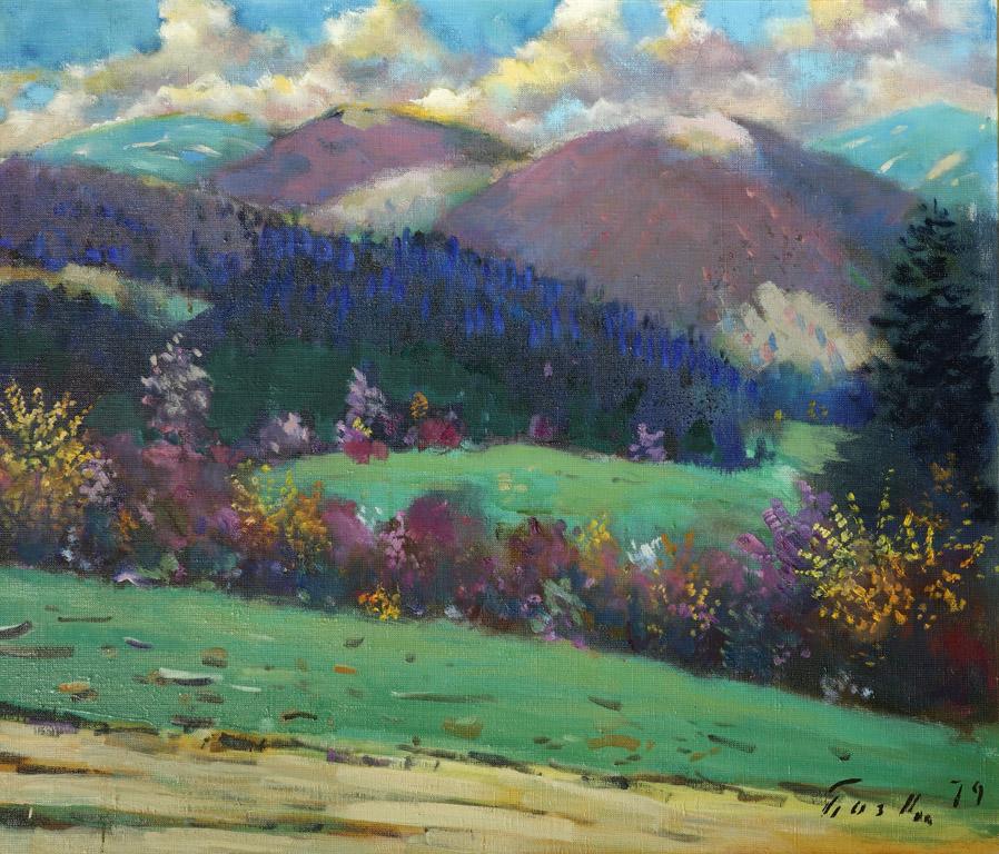 Гірський пейзаж 1979