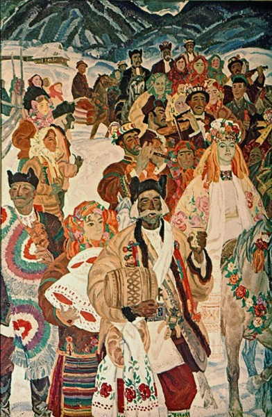 Гуцульская свадьба (фрагмент)
