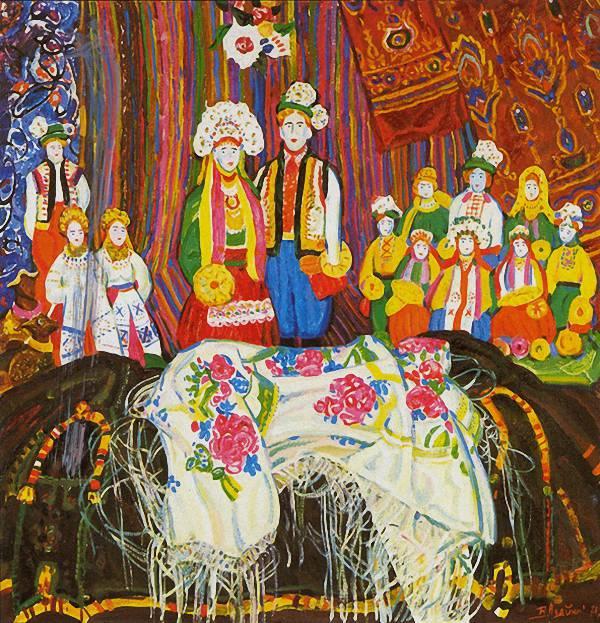 Гуцульский натюрморт. 1971 г.