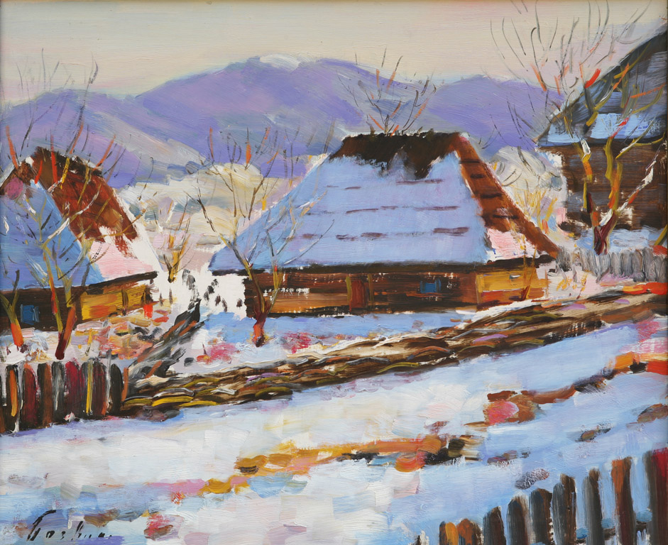 Хатки в селі Ликицари 1959
