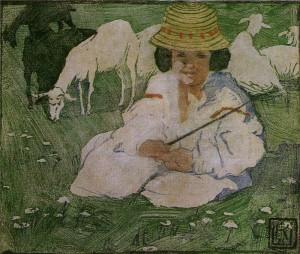 Кульчицкая Пастушок 1903-06 гг.