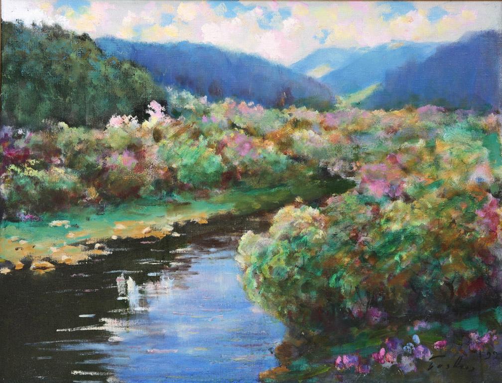 Літній пейзаж над річкою Уж 1999