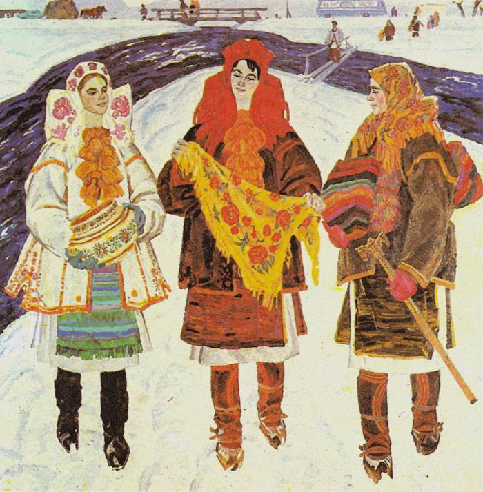Молодицi. 1969-1970 гг.