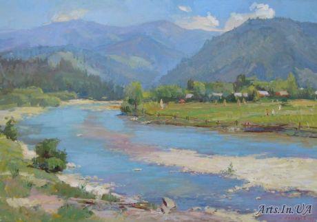 На річці Опір `
