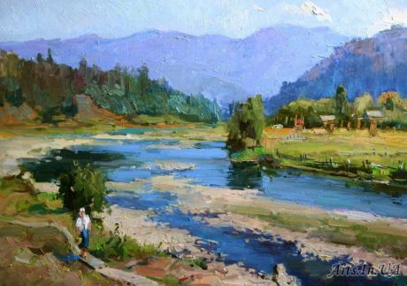 На річці Опір