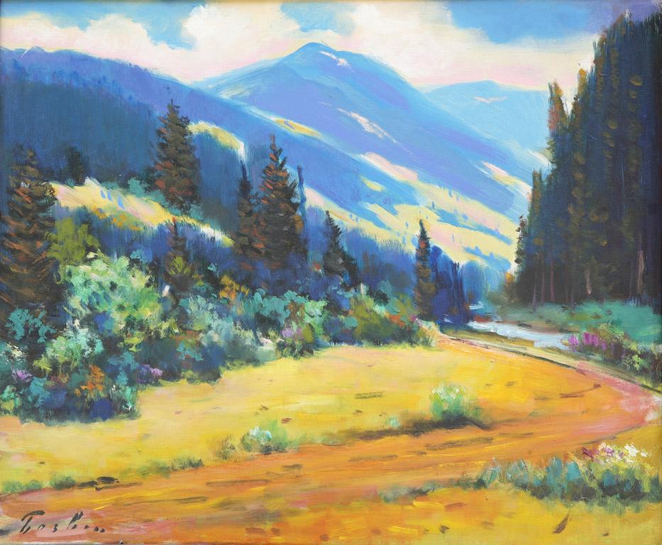 Пейзаж Воловеччини 1967