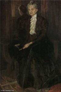 Портрет матери 1908 г.