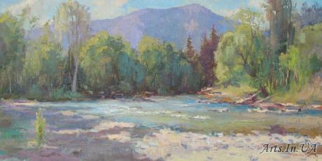 Широка річка