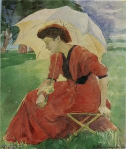 Сестра в красном 1909 г.