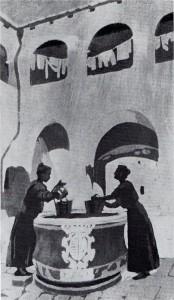 У колодца (Соседки) Порто-Ре 1911 г.