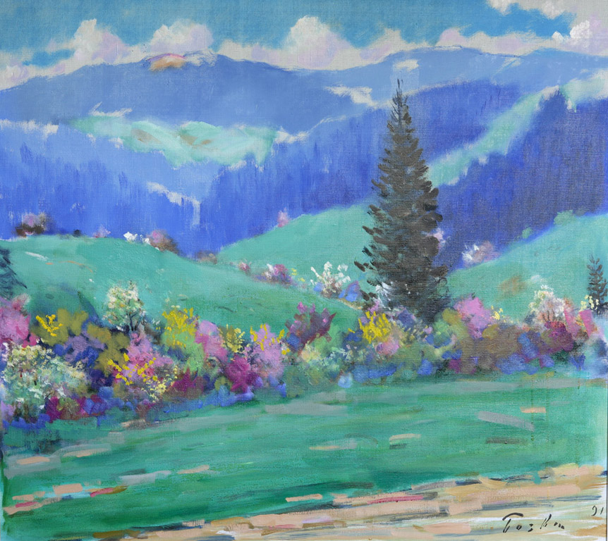 Весна на перевалі 1991